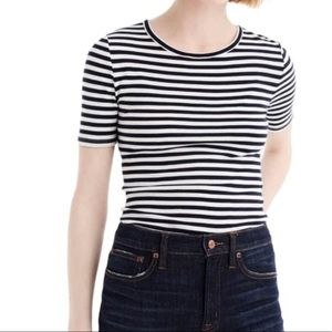 💲J. Crew The Perfect Fit Striped Top MSRP $58!
